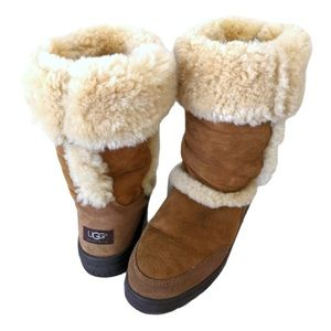 UGG Sundance II Tall Chestnut Boots